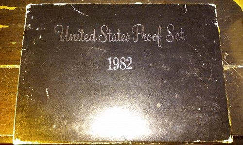 1982-S United States Mint Proof Set W/ Original Box