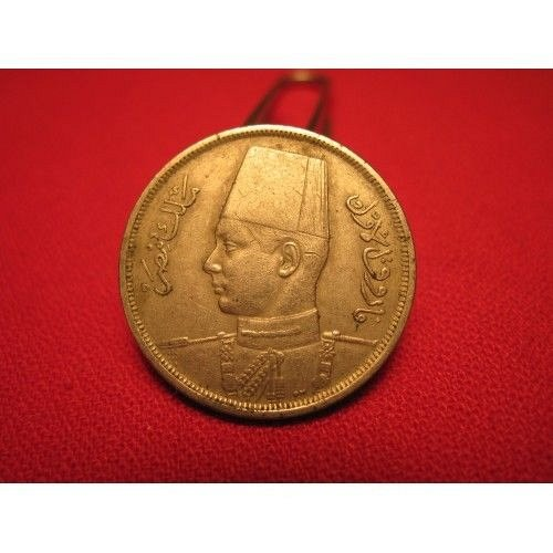 1938 egypt10 mills  the old king