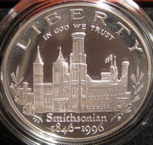 Smithsonian Institution 150th Anniversary Commem Dollar