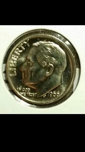 1966-P sms dime double strike reverse