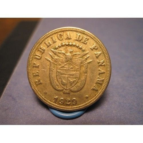 1929 panama 5cent