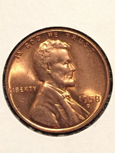 1958-D Wheat Cent