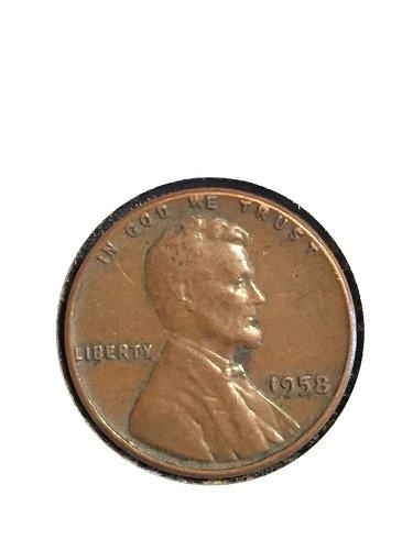 1958 P Wheat Cent EF40