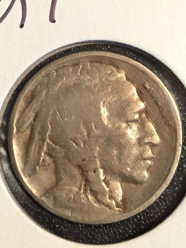 1929 P Buffalo Nickel