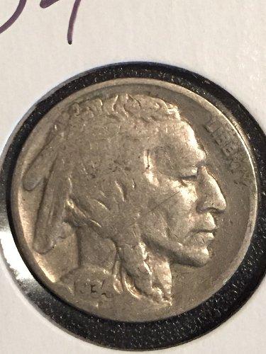 1934 P Buffalo Nickel