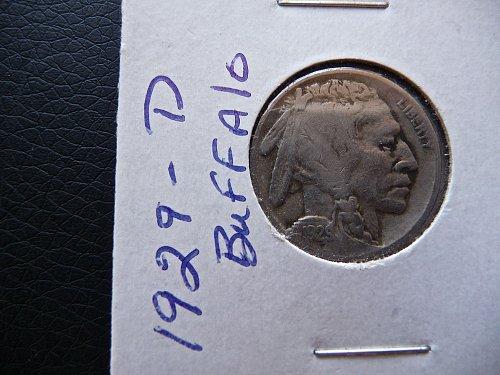 1929-D Buffalo Nickel
