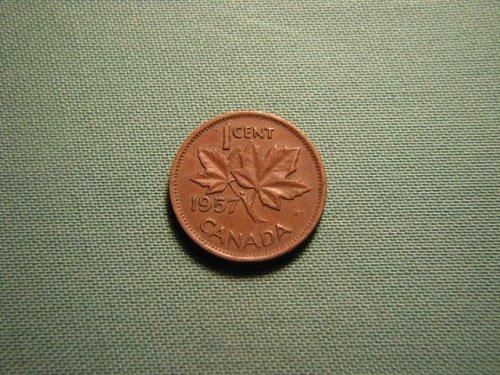Canada 1957 1 cent