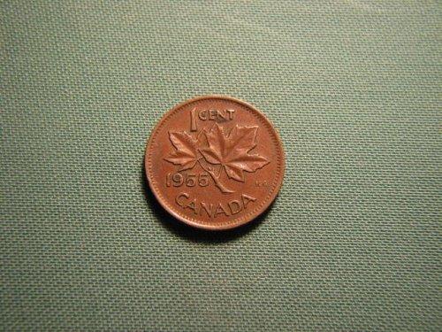 Canada 1955 1 cent