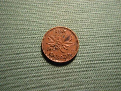 Canada 1949 1 cent