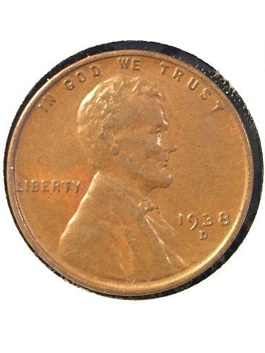 1938 D Wheat Cent