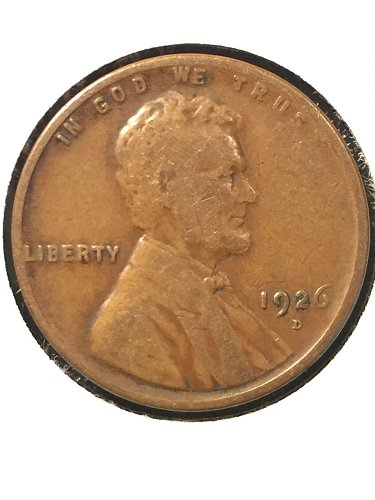 1926 D Wheat Cent