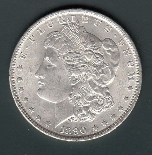 Morgan 1890 Dollar: XF40/45   / MC60