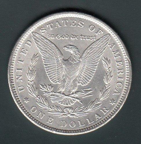 Morgan 1890 Dollar: XF40/45   / MC60