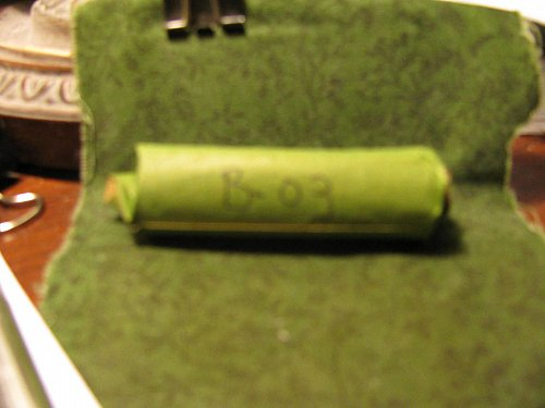 Roll 50 mercury Dimes mixed dates B-03