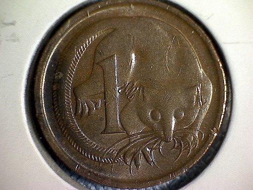 1977 AUSTRALIA ONE CENT