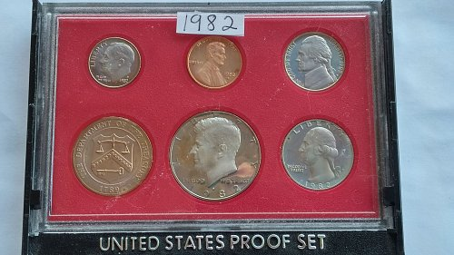 1982 S proof set
