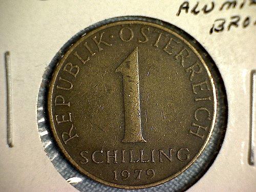 1979 AUSTRIA ONE SCHILLING
