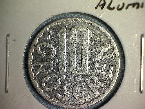 1990 AUSTRIA TEN GROSCHEN