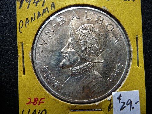 1947 Panama Balboa