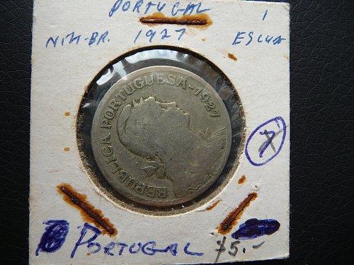 1927 Portugal   1  escudo