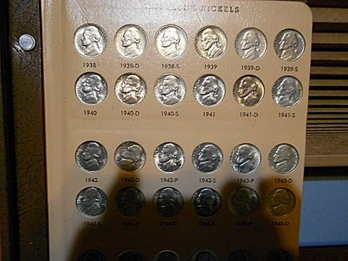1938-2015-s Jefferson Nickel Uncirculated Complete Collection in 2-Dansco Albums