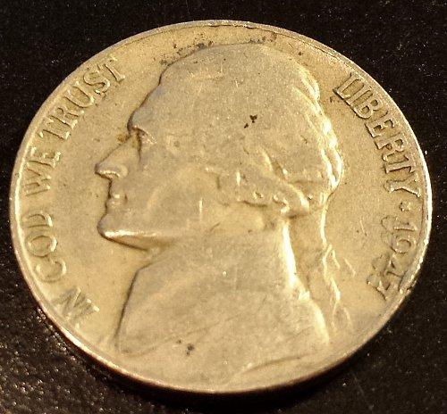 1947 Jefferson Nickel (6195)