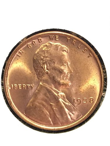 1938 P Wheat cent