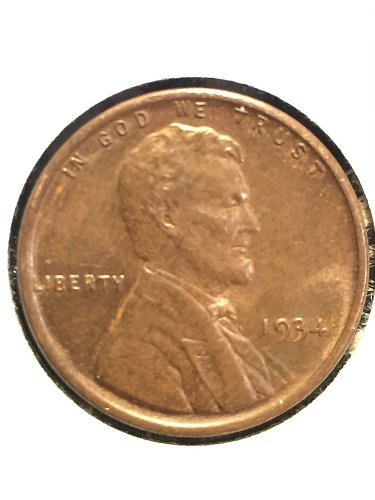 1934 P Wheat Cent