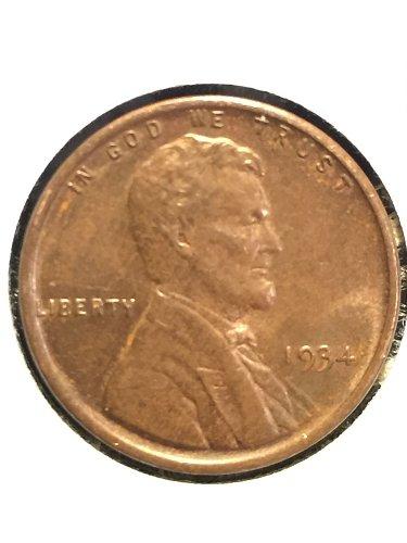 1934 P Wheat Cent