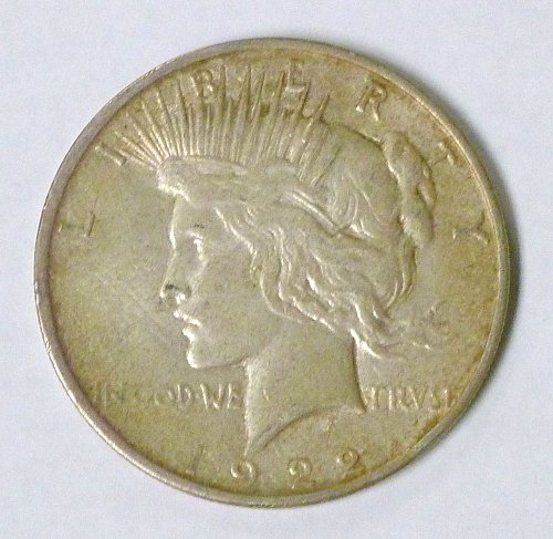 1922 D Peace Dollar Denver Mint