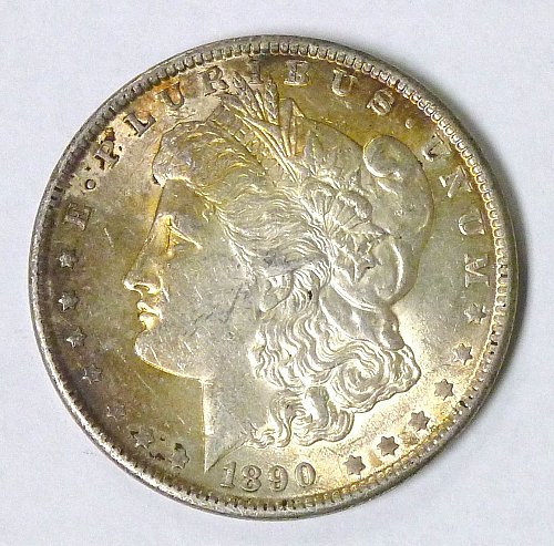 1890 Morgan Silver Dollar Philadelphia Mint