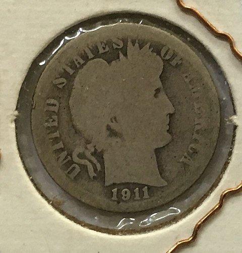 1911 S Barber Dime