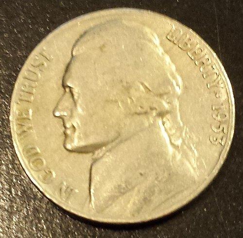 1953-D Jefferson Nickel (6203)