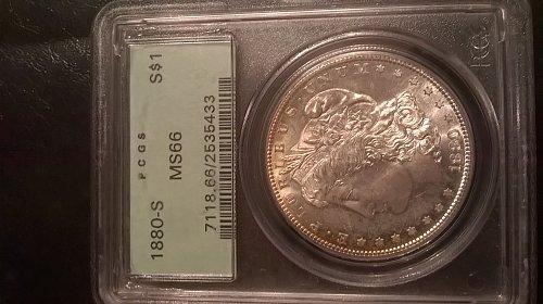 1880-S PCGS MS-66