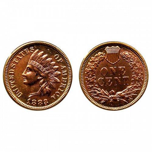 1883 Indian Head Cent - BU