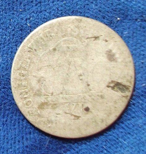 1809 German States/Wurttemberg 6 Kreuzer AG/G