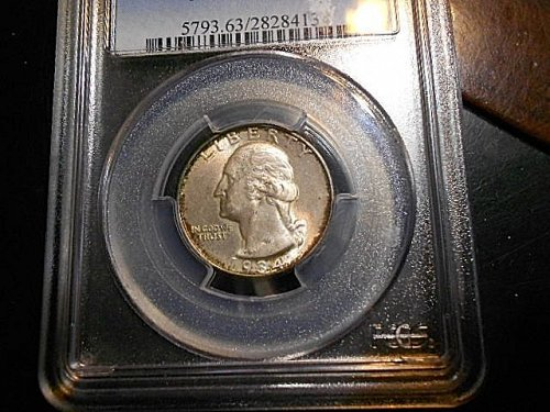 1934  Washington Quarter  PCGS  MS63  Medium Motto