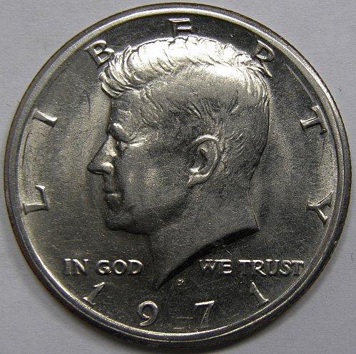 1971 D Kennedy Half Dollar #2
