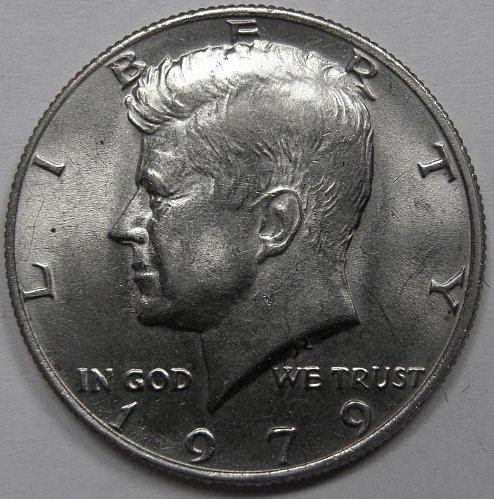 1979 P Kennedy Half Dollar #2