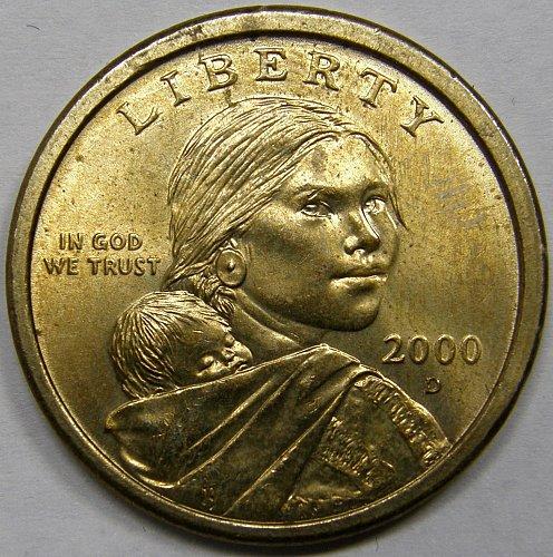 2000 D Sacagawea Dollar #2
