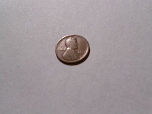 1922  NO D or VERY,VERY WEAK D  Lincoln Wheat Cent  Weak Reverse  g/vg