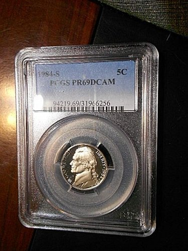 1984-s   Jefferson Nickel     PCGS  PR69  DCAM