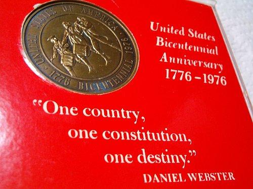 1776-1976 bicentennial token/medal