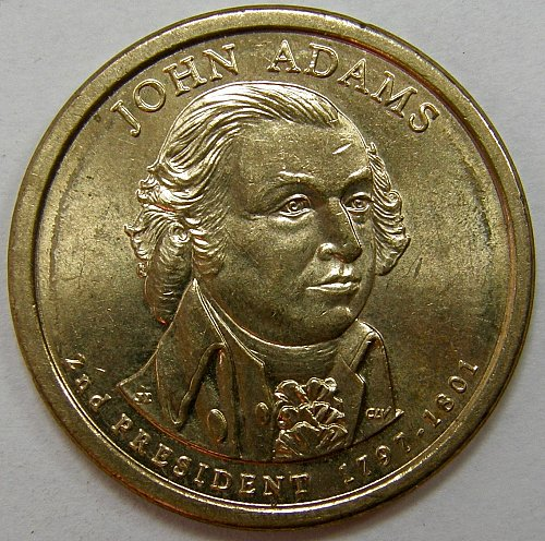2007 D Presidential Dollars: John Adams #2
