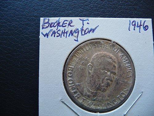 1946 Booker T Washington Half dollar