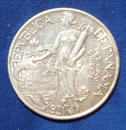 1931 Panama Balboa AU