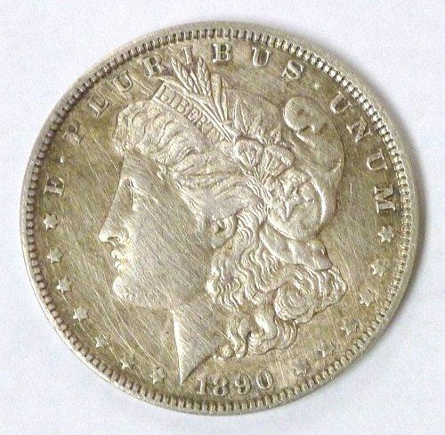 1890 Morgan Silver Dollar Philadelphia Mint
