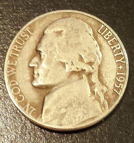 1957 Jefferson Nickel (6211)