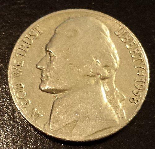 1958-D Jefferson Nickel (6213)