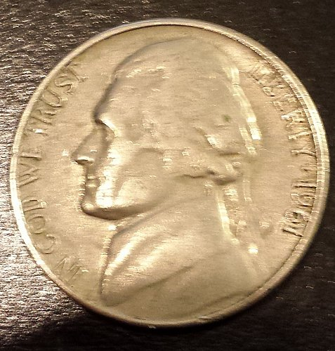 1961-D Jefferson Nickel (6217)